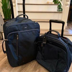 Tumi travel carryon set